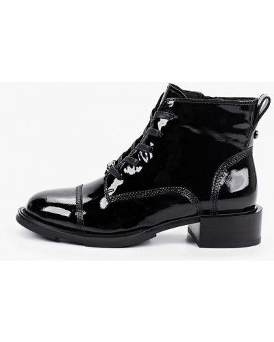 Черные лаковые кожаные ботинки Graciana