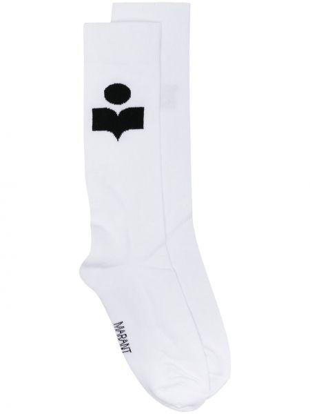 Белые носки эластичные Isabel Marant