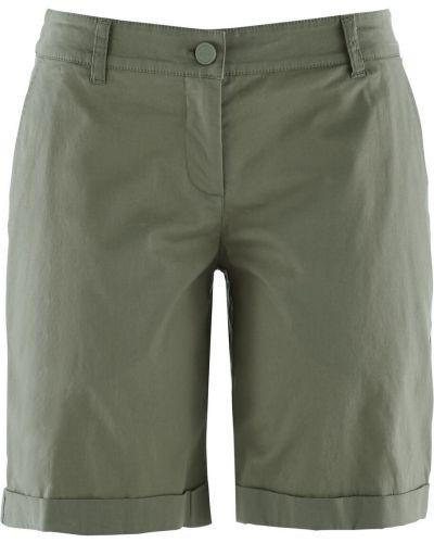 Оливковые брюки Bonprix