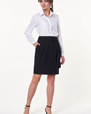 Юбка мини юбка-колокол с карманами Valentina
