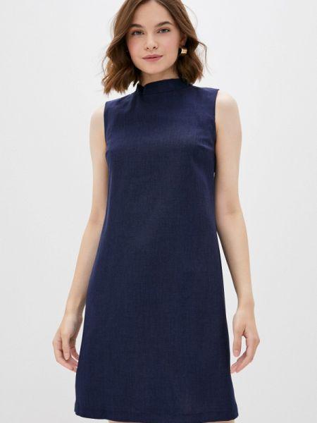 Платье - синее Maurini