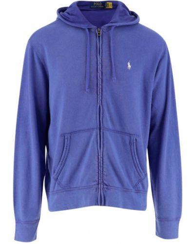 Niebieski sweter oversize Ralph Lauren