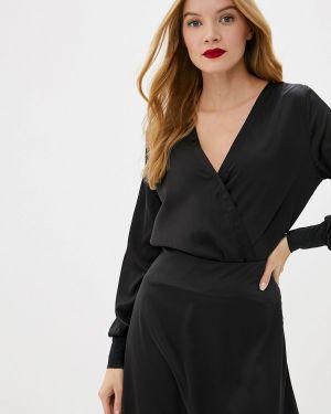 Платье осеннее черное Gepur