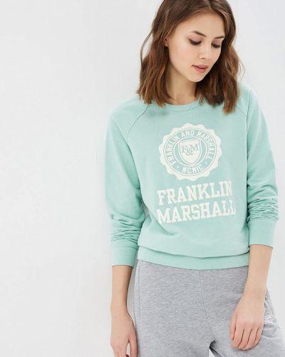 Зеленая толстовка Franklin & Marshall