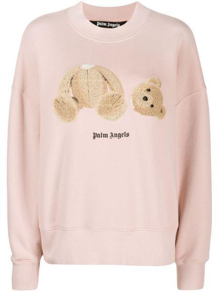 Bluza różowy Palm Angels
