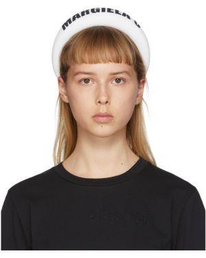 Opaska na głowę biały czarny Mm6 Maison Margiela