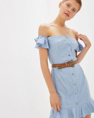 Платье с открытыми плечами Gepur