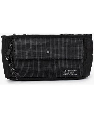 Текстильная черная поясная сумка Levi's®