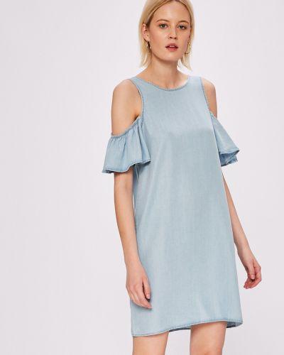 Платье мини с оборками Noisy May
