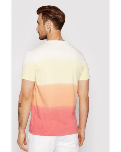 Wielokolorowy t-shirt Polo Ralph Lauren