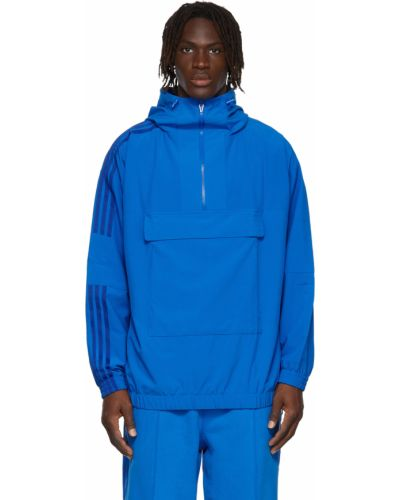 Синяя куртка сетчатая Adidas X Ivy Park