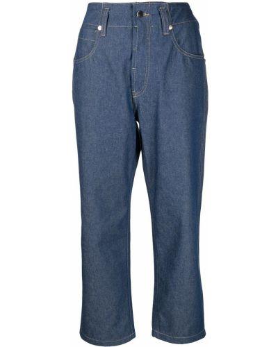 Расклешенные синие с завышенной талией джинсы Sofie D'hoore