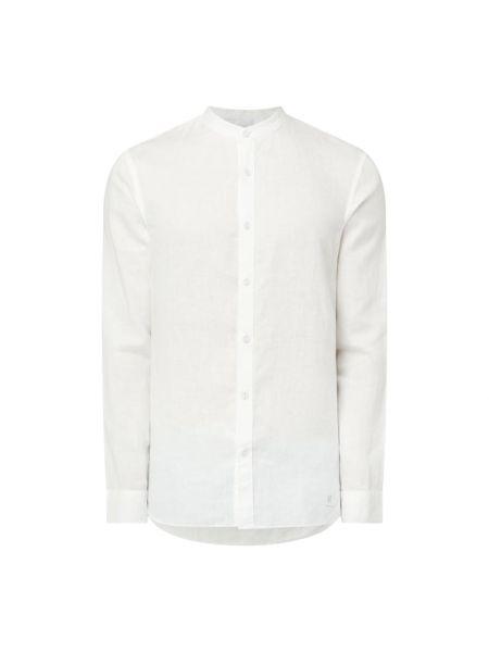 Biała koszula slim z długimi rękawami Nowadays