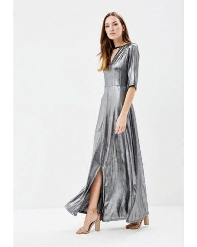 Платье весеннее серебряный Brigitte Bardot