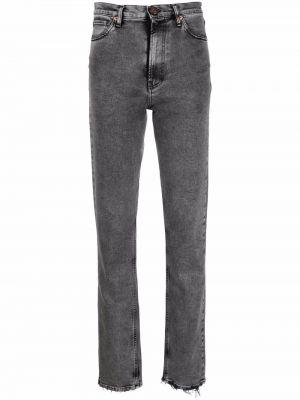 Серые джинсы с карманами 3x1