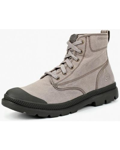 Ботинки осенние высокие резиновые Skechers