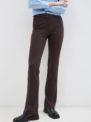 Широкие брюки - коричневые мадам т