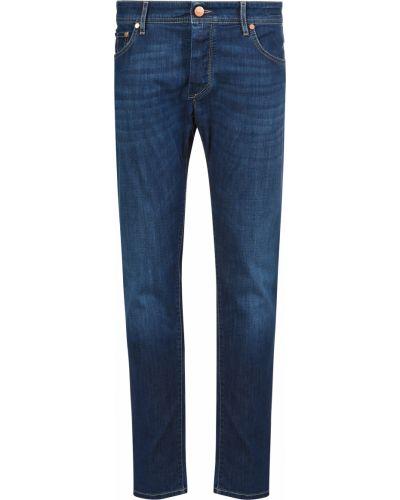 Хлопковые джинсы - синие Barba Napoli