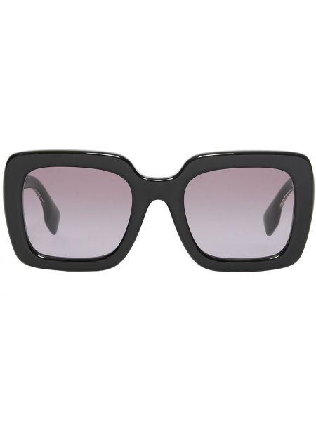 Муслиновые черные солнцезащитные очки квадратные Burberry