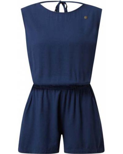 Niebieski kombinezon krótki krótki rękaw z wiskozy Ragwear