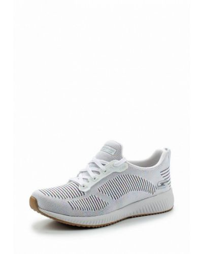 Белые кроссовки Skechers