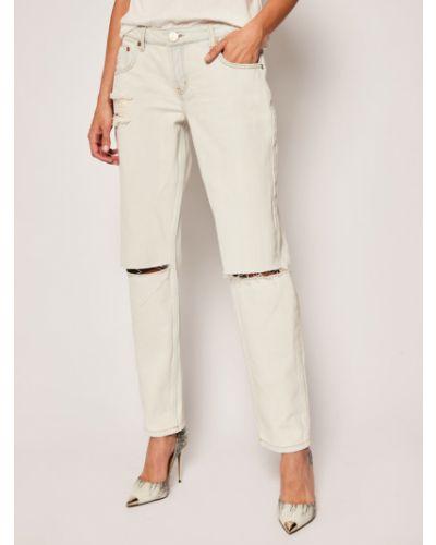 Mom jeans - białe One Teaspoon