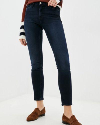 Зауженные джинсы - синие Mexx