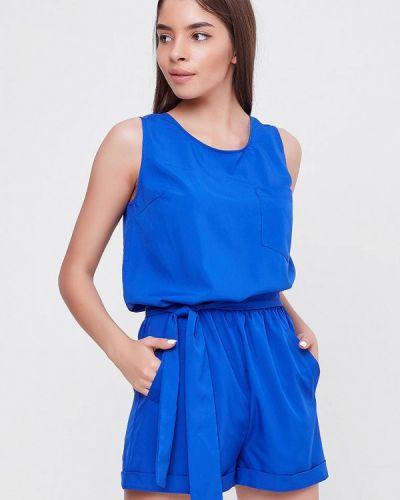 Комбинезон с шортами синий Sfn
