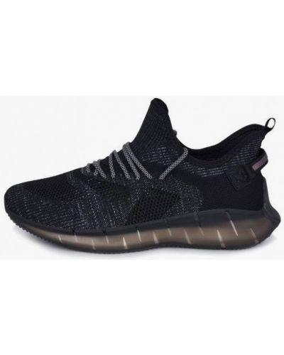 Текстильные черные кроссовки Pierre Cardin