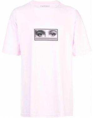 Розовая футболка The Celect