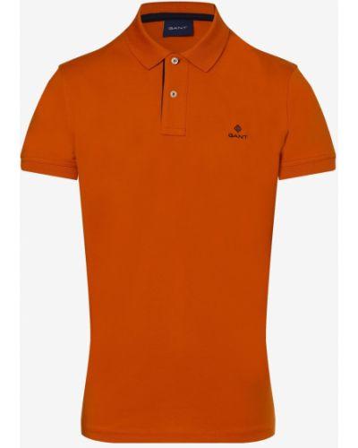 T-shirt - pomarańczowa Gant