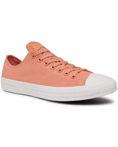 Trampki - pomarańczowe Converse