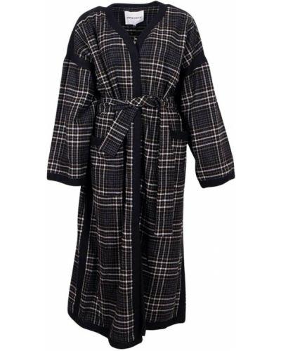Czarny płaszcz Antik Batik