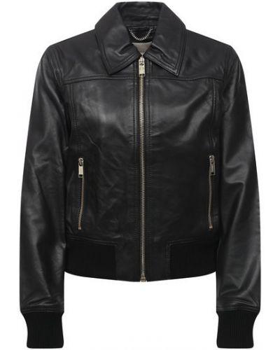Кожаная куртка с подкладкой Michael Michael Kors