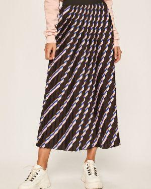 Плиссированная юбка макси на резинке Only