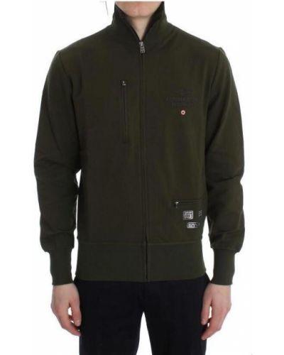Sweter za pełne z zamkiem błyskawicznym Aeronautica Militare