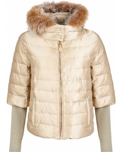 Куртка из полиэстера - бежевая Gallotti