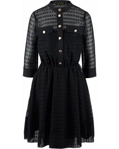 Ажурное черное платье Love Republic