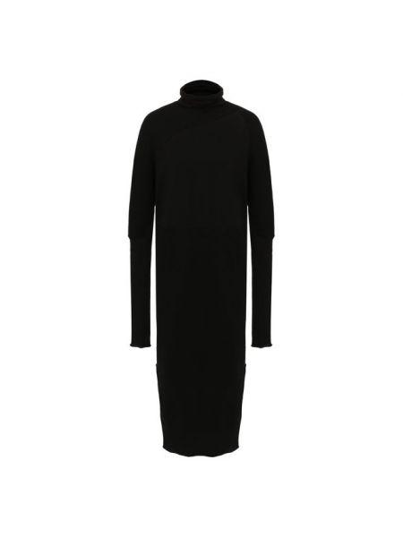 Шерстяное платье - черное Roque