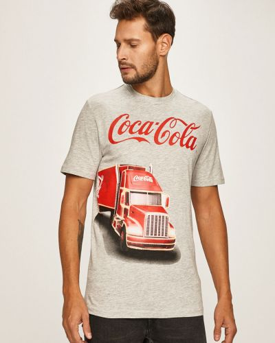 Koszula szary z wzorem Only & Sons