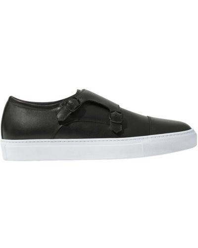 Czarne sneakersy Scarosso