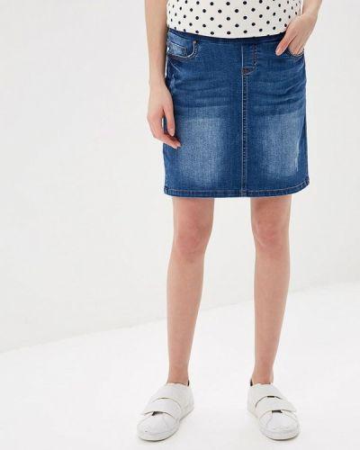 Джинсовая юбка синяя Mama.licious