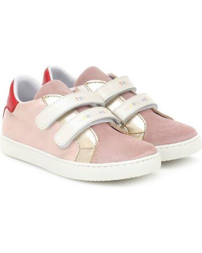 Skórzany skórzane sneakersy The Marc Jacobs