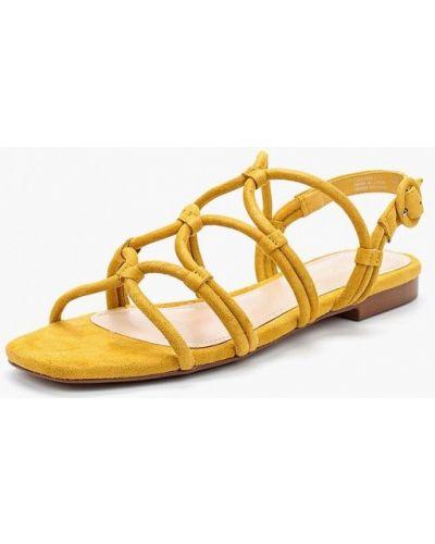 Желтые сандалии Mango