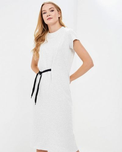 Серое платье весеннее Cheap Monday