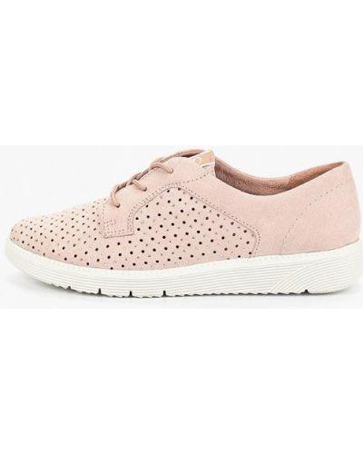 Ботинки розовые Tamaris