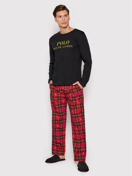Piżama - czarna Polo Ralph Lauren