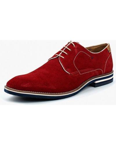 Красные туфли замшевые Salamander