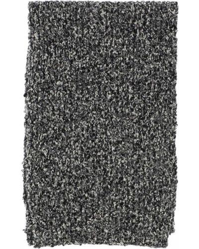 Czarny szalik wełniany Dolce And Gabbana