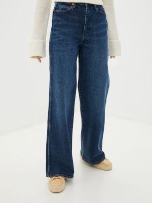Широкие джинсы - синие Wrangler